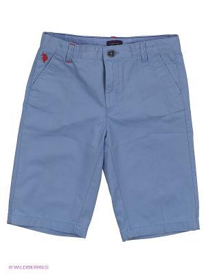 Шорты U.S. Polo Assn.. Цвет: голубой