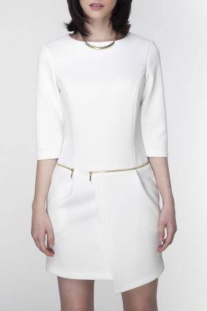 Платье Ambigante. Цвет: cream