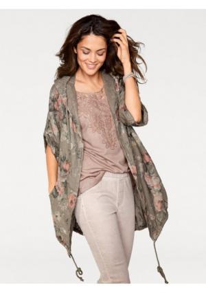 Блузка Linea Tesini. Цвет: цветной