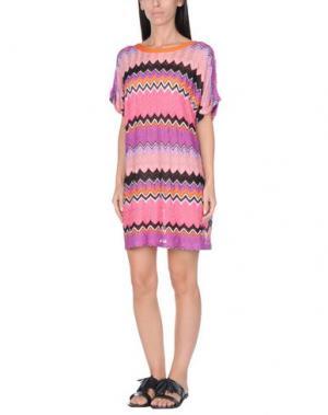 Пляжное платье MISSONI MARE. Цвет: фуксия