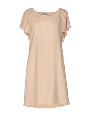 Короткое платье LOU LONDON. Цвет: светло-розовый