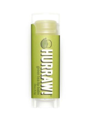 Бальзам для губ Hurraw! Green Tea Lip Balm. Цвет: светло-зеленый