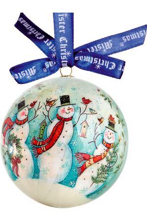 Набор шаров Mister Christmas. Цвет: синий, белый