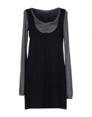 Короткое платье ONE STEP. Цвет: черный