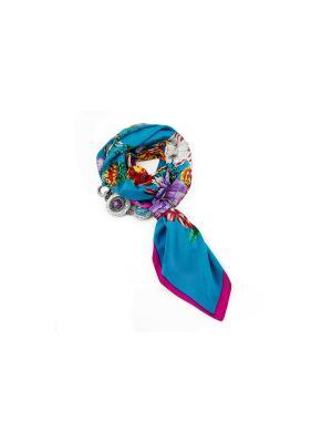 Платок FOXTROT. Цвет: синий