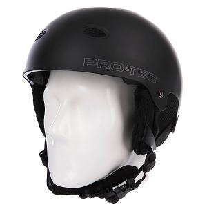 Шлем для сноуборда  B2 Snow Matte Black Pro-Tec. Цвет: черный