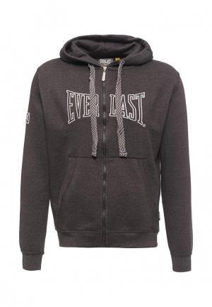 Толстовка Everlast. Цвет: серый