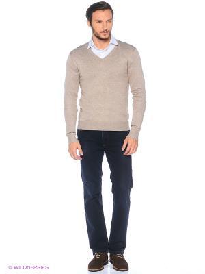 Пуловер Alcott. Цвет: светло-серый