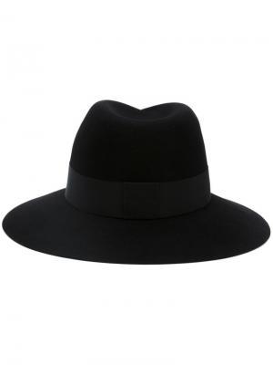 Фетровая шляпа Virginie Maison Michel. Цвет: чёрный