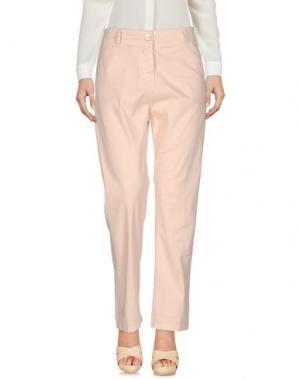 Повседневные брюки SUERTE. Цвет: светло-розовый