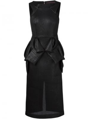 Платья Jean Pierre Braganza. Цвет: чёрный