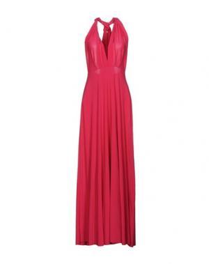Длинное платье VON VONNI. Цвет: фуксия
