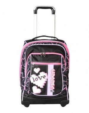 Рюкзаки и сумки на пояс SEVEN. Цвет: черный