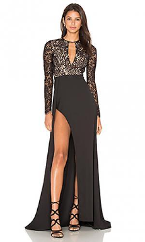 Платье alexandria Elle Zeitoune. Цвет: черный