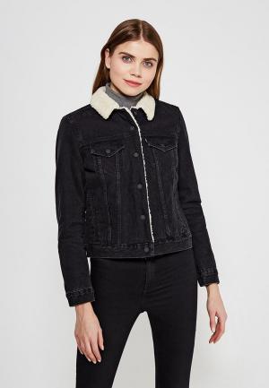 Куртка джинсовая Levis® Levi's®. Цвет: черный