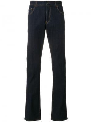 Расклешенные джинсы Prada. Цвет: синий