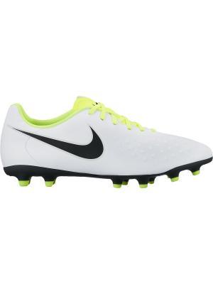 Бутсы MAGISTA OLA II FG Nike. Цвет: белый, черный