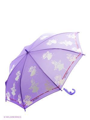 Зонт Flioraj. Цвет: фиолетовый