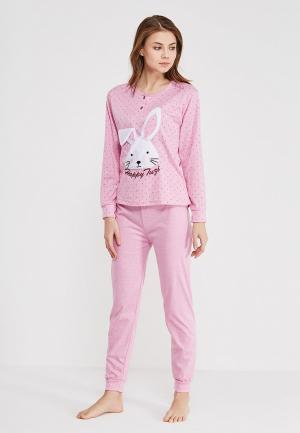 Пижама Cootaiya. Цвет: розовый