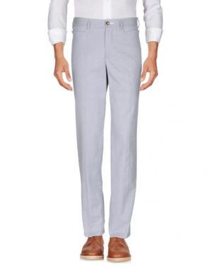 Повседневные брюки FAÇONNABLE. Цвет: синий