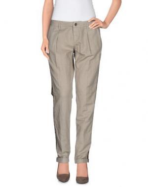 Повседневные брюки MAISON CLOCHARD. Цвет: бежевый