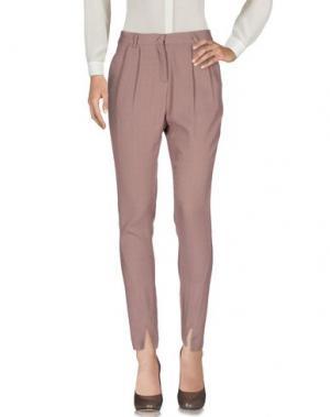 Повседневные брюки ATTIC AND BARN. Цвет: пастельно-розовый