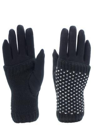 Перчатки HOBBY LINE. Цвет: белый, черный