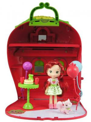 Игрушка Шарлотта Земляничка Набор Кукла 15 см с домом и аксессуарами, кор. The Bridge. Цвет: красный