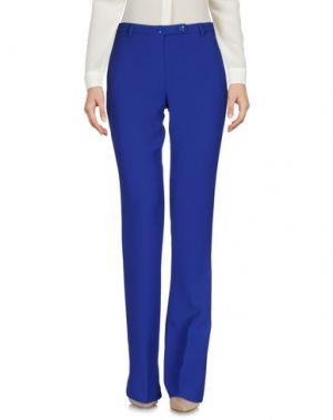 Повседневные брюки HANITA. Цвет: ярко-синий