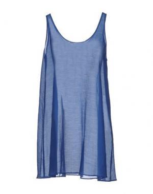 Короткое платье DEVOTION. Цвет: лазурный