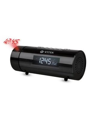 Радио-часы Vitek VT-3527(BK). Цвет: черный