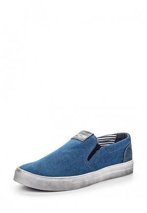 Слипоны HCS. Цвет: синий