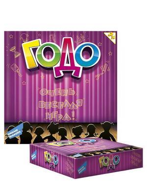 Детская настольная игра Годо 7+ DREAM MAKERS. Цвет: фуксия