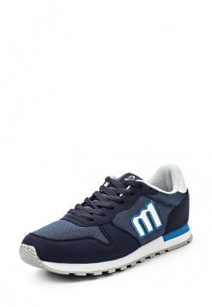 Кроссовки MTNG. Цвет: синий