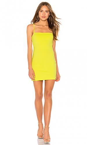 Платье laurie Susana Monaco. Цвет: желтый