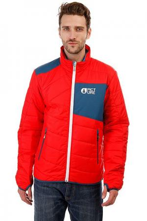 Куртка  Eclipse Red Picture Organic. Цвет: красный