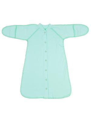 Спальный мешок Клякса. Цвет: зеленый