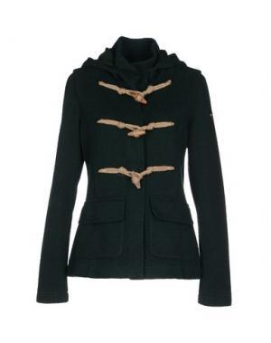 Пальто COOPERATIVA PESCATORI POSILLIPO. Цвет: темно-зеленый