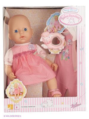 Игрушка my first Baby Annabell Кукла с допол.набором одежды ZAPF. Цвет: розовый