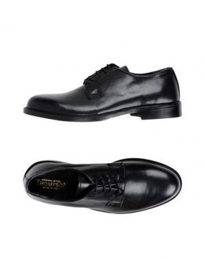 Обувь на шнурках THOMPSON. Цвет: черный