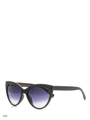 Очки солнцезащитные Vittorio Richi. Цвет: черный