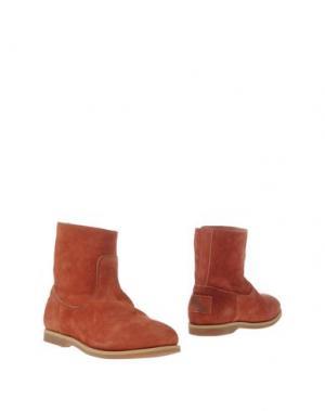 Полусапоги и высокие ботинки UIT. Цвет: ржаво-коричневый