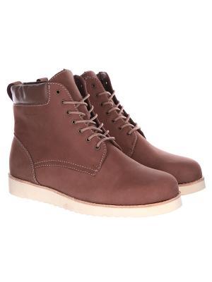 Ботинки зимние Rheinberger Classic Tim Brown. Цвет: коричневый