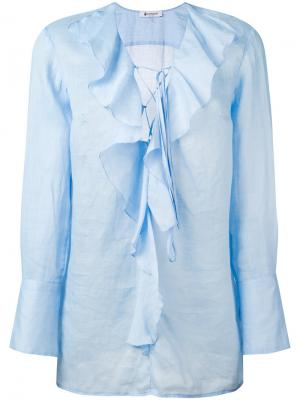Блузка Bisa Dondup. Цвет: синий