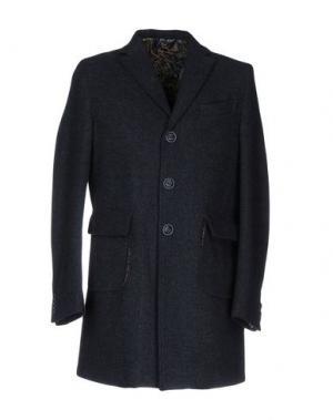 Пальто BARBATI. Цвет: грифельно-синий