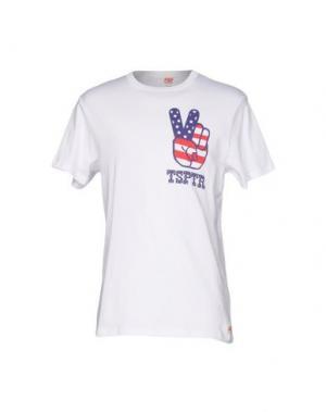 Футболка TSPTR. Цвет: белый
