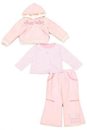 Комплект BEN. Цвет: розовый