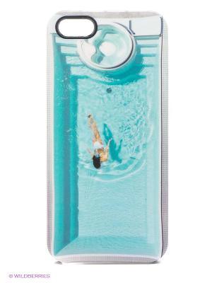 Чехол для iPhone 5/5s Pool Kawaii Factory. Цвет: бирюзовый