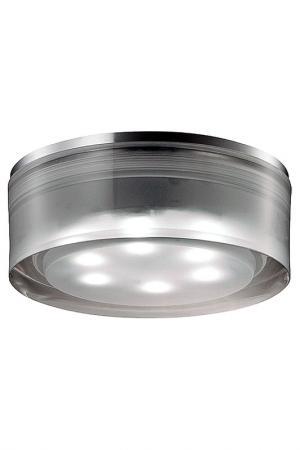 Светодиодный светильник NOVOTECH. Цвет: хром, белый
