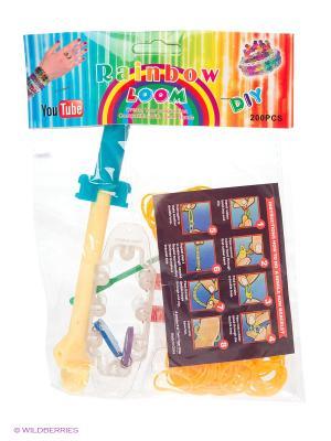 Набор для плетения Loom Bands. Цвет: оранжевый